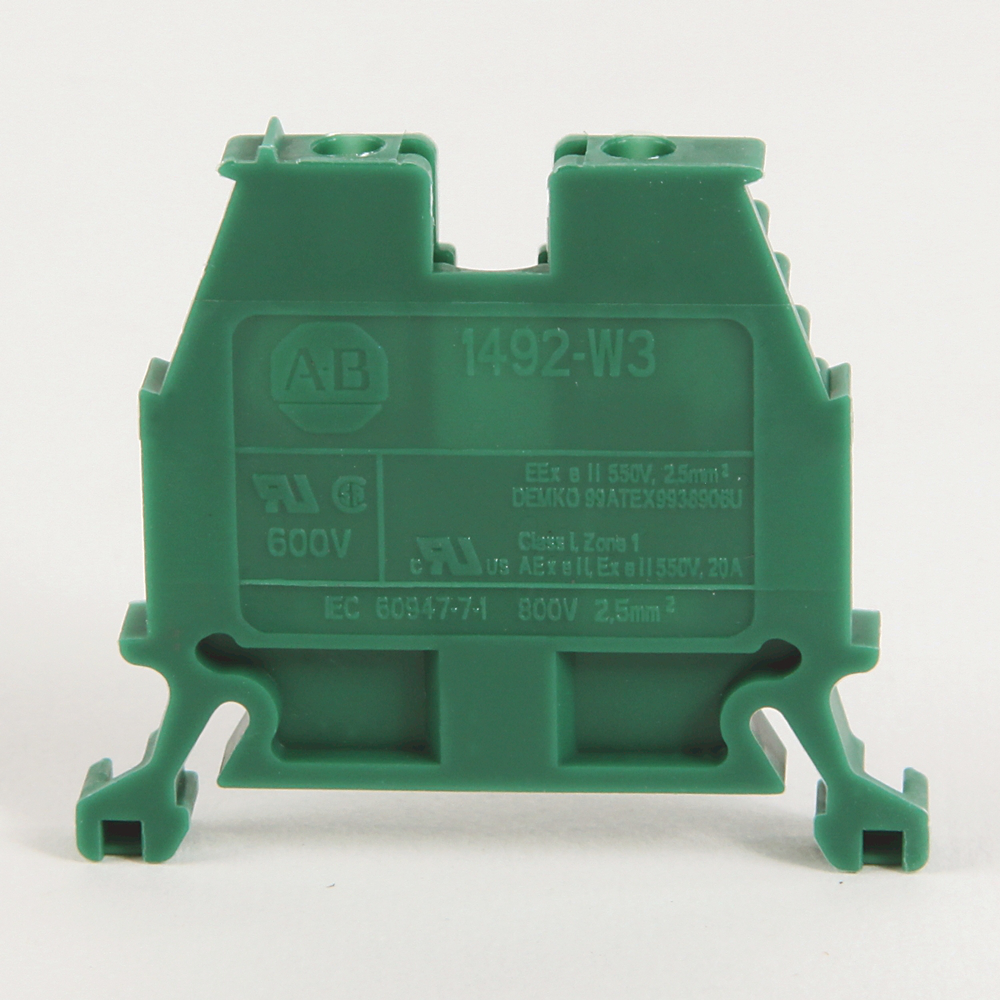 Allen-Bradley 1492-W3 2-1/2 mm Standard Terminal Block