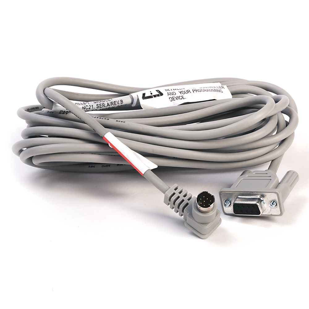 A-B 2711-NC21 PanelView 5 m to MicroLogix Cable