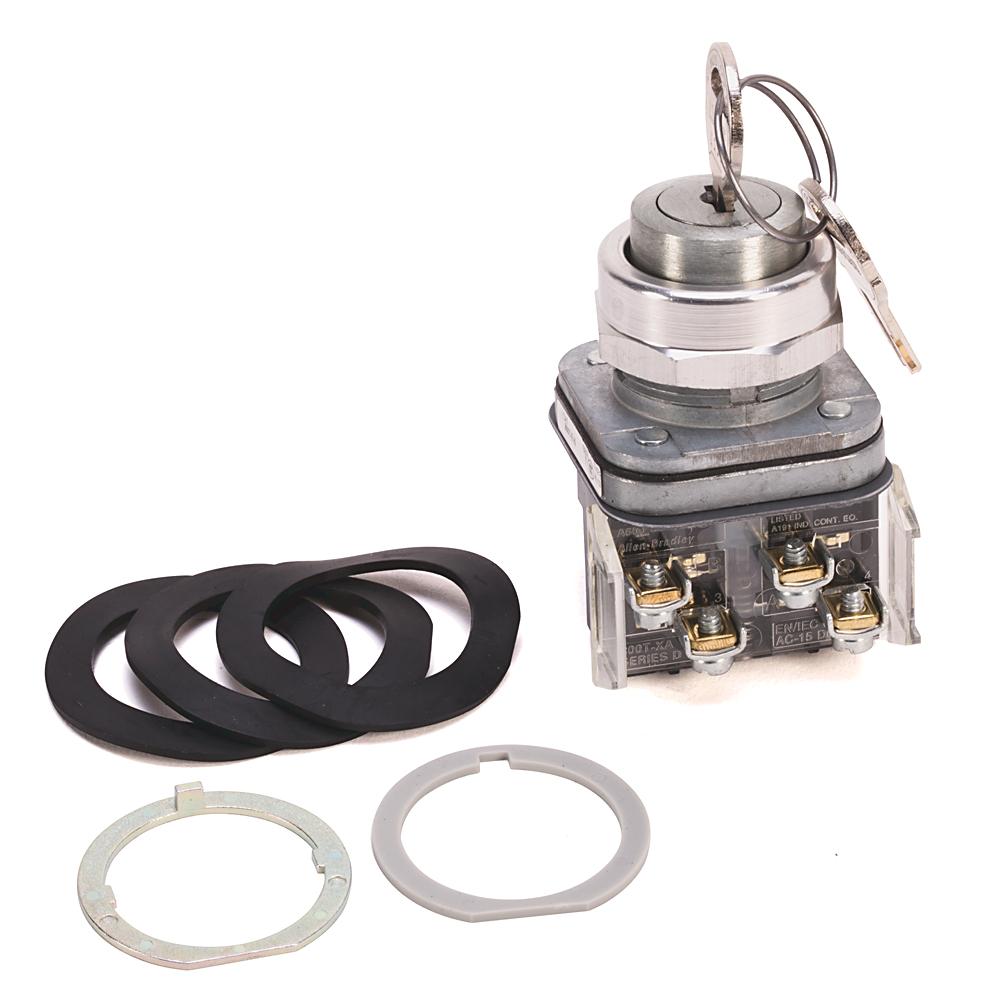 Allen Bradley 800T-E16A 30 mm Cylinder Lock Push Button