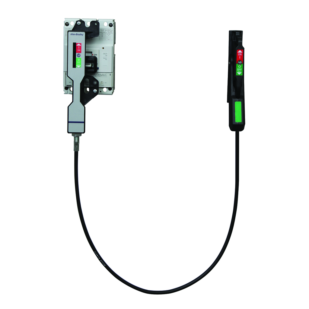 Allen Bradley 140G-I-FCX04 Molded Case Circuit Breaker Flange Mounted Cable Operator