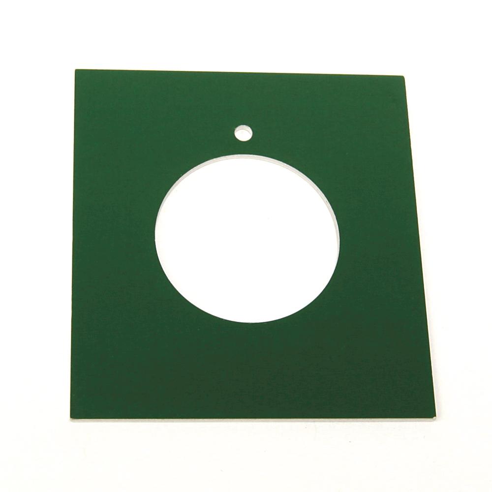 Allen Bradley 800H-Y136J Blank Jumbo Push Button Legend Plate