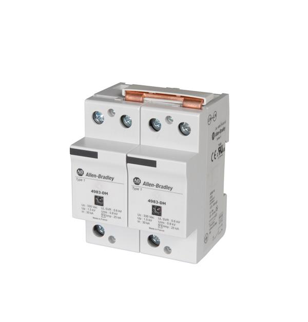 AB 4983-DH300-50 1POLE DIN MT MCOV330 AC