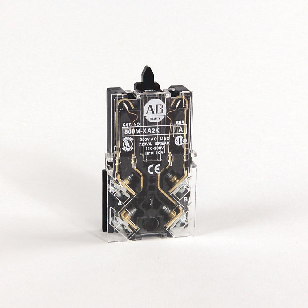 Allen-Bradley 800M-XA2K 22 mm Contact Block Push Button