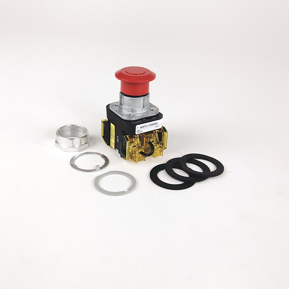 Allen Bradley 800TC-FXJE6A5S 30 mm Push Button Push-Pull Device