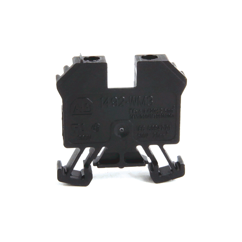 Allen-Bradley 1492-WM3-B 2.5 mm Miniature Terminal Block