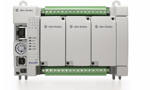 Allen-Bradley 2080-LC50-24AWB Micro850 24 I/O