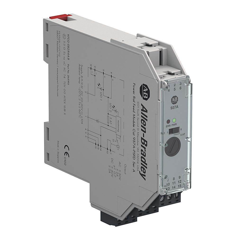 Allen Bradley 937A-PSFD Power Rail Feed Module
