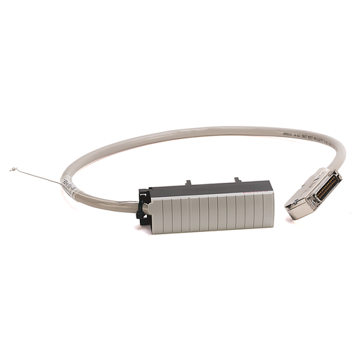 Pre-wired Cable for 1756-IF16 (S-ended current) Analog Input Module, 20 conductors, #22 AWG, shielded, w1756-TBCH connector & AIFM 25-Pin D-shell connector, length 2.5 meter (8.2 feet)