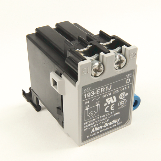 193, 193S E1 Plus & E3 Plus Solid State Overload Relay Accessories, Remote Reset Solenoid