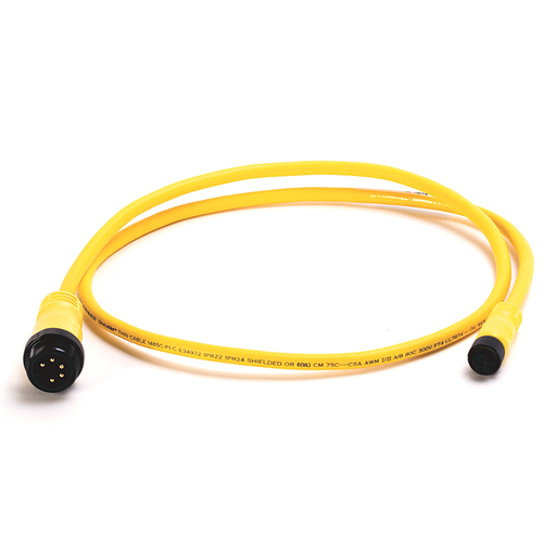 DeviceNet, Trunk End: Mini, Straight Male, Device End: Micro, Straight Female, Thin Media, Yellow CPE
