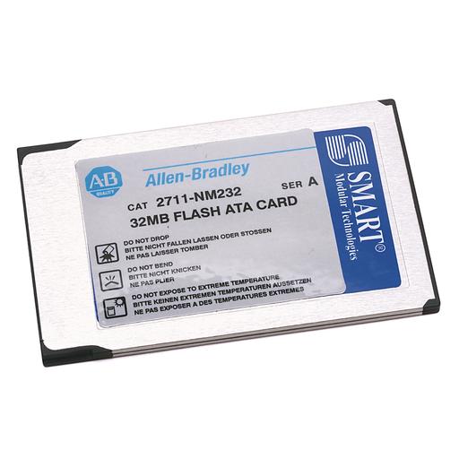2711 PanelView Standard Terminal Accessories, 32MB Flash ATA Memory Card