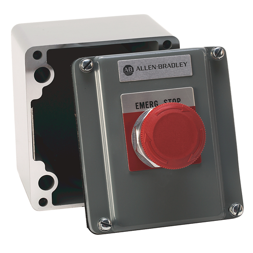 800R Selector Switch Station, 3-Position Selector Switch, Type 4/13 Surface Mount Enclosure, NEMA 4 and 13 Cast Aluminum Alloy, HAND - OFF - AUTO