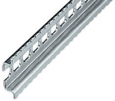 DIN Mounting Rail, Rigid Mounting A-B Rail (22.4mm x 6.9mm), 1 Meter (Pkg. Qty. 20)