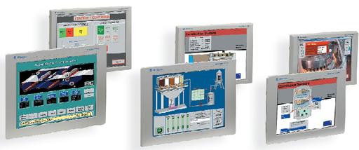 6176M Standard Monitors, 15-inch Flat Panel Monitor, Panel Mount Aluminum Bezel, Standard Screen