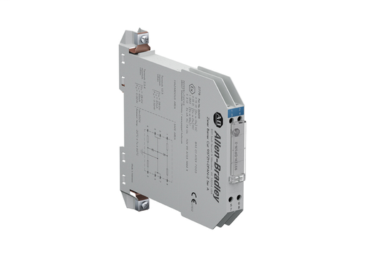 Bulletin 937Z Zener Barriers, DC Positive Polarity, 646 ohms, None None, Dual Channel