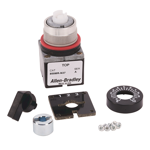 800MR Potentiometer, Operator Only (without Resistive Element)