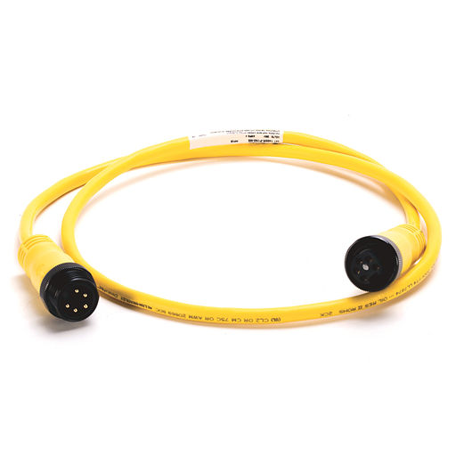 DeviceNet, Trunk End: Mini, Straight Female, Device End: Mini, Straight Male, Thin Media, Yellow CPE