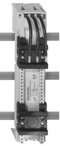 141A MCS Mounting System Adapter Modules, MCS Standard Busbar Module and for 140G/140MG CB's, 54mm x 200mm, 32 Amp, 2 MCS Specific Top Hat Rail