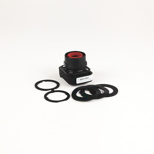 30.5mm Type 4/4X/13 3 Pos Push-Pull PB-Illum., OUT/CNTR/IN-Mom/Maint/Mom, Green, Mushrm Hd, LED, 120V AC 50/60 Hz, 1 NCLB-1 NC