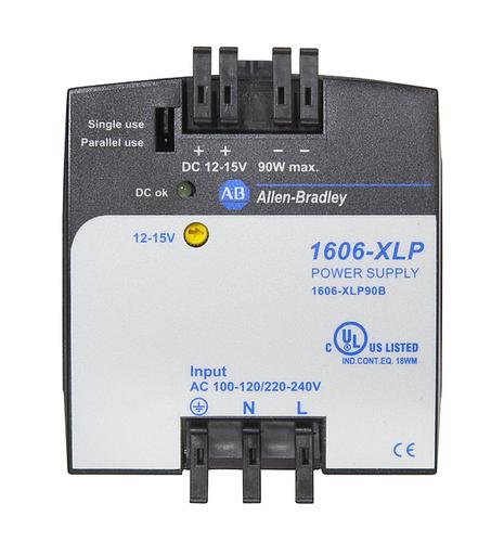 1606-XLP90B: Compact Power Supply, 12-15V DC, 90 W, 100-120 / 220-240V AC / 290V DC DC Input Voltage
