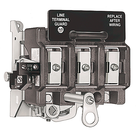 Variable Depth Door Mounted Rotary Disconnect Switch, 200A