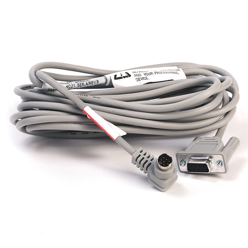 2711 PanelView Standard Terminal Accessories, 16.4 foot (5.0 m) RS-232 Operating Cable for PanelView to MicroLogix
