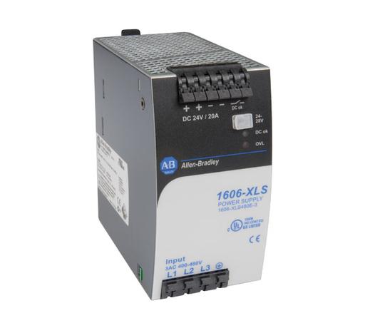 1606-XLS480E-3: Performance Power Supply, 24-48V DC, 480 W, 3-Phase 380 - 480V AC wide range / 600V DC Input Voltage