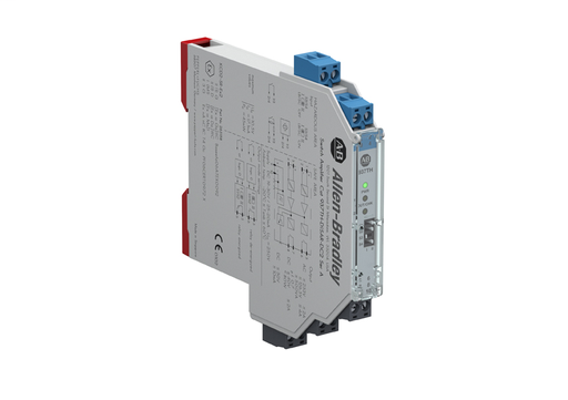 937 Isolated Barrier, 12.5mm Module (High Density), Digital In I/O Type, Switch Amplifier with Relay Output, 24V DC, Dual Channel