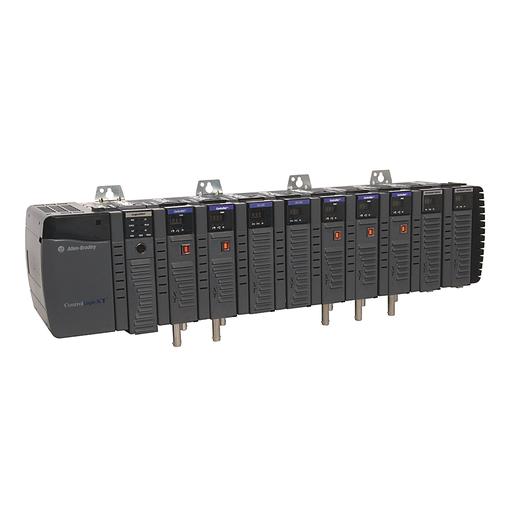10 Slot ControlLogix Chassis, Logix XT, Temperature Range 25-70 °C (-13-158 °F)