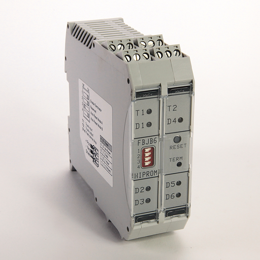 Networks and Communication Products, Intelligent field bus 6 Way Junction Box for Profibus PA or Fieldbus Foundation (H1) networks