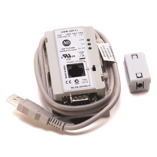 1746 SLC System, USB to DH-485 Interface Converter
