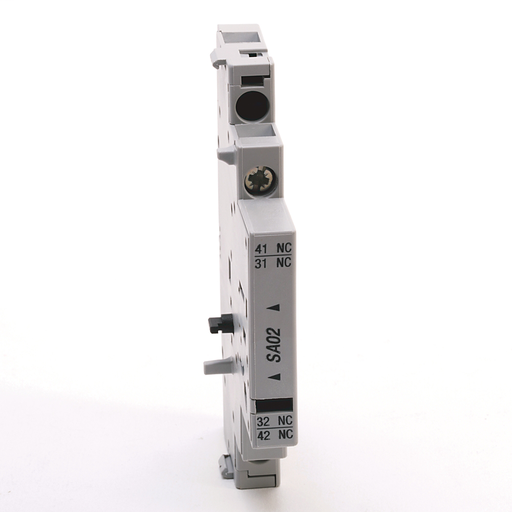 140M Accessories - C, RC, D, and F Frames, Auxiliary Contact Block, Right Side Mounted, 2 N.O. 0 N.C.