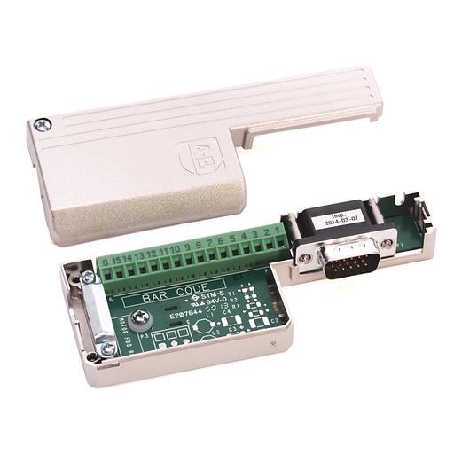 Connector, Motor Feedback, D-Shell/Term Block, 15 Pin.