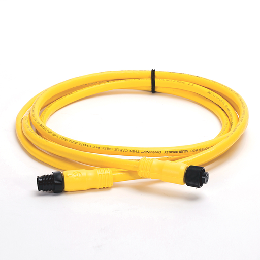 DeviceNet, Trunk End: Micro, Straight Female, Device End: Micro, Straight Male, Thin Media, Yellow CPE
