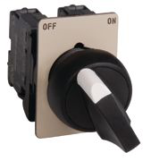 """IEC Selector Switch, """"FORWARD-OFF-REVERSE"""""""