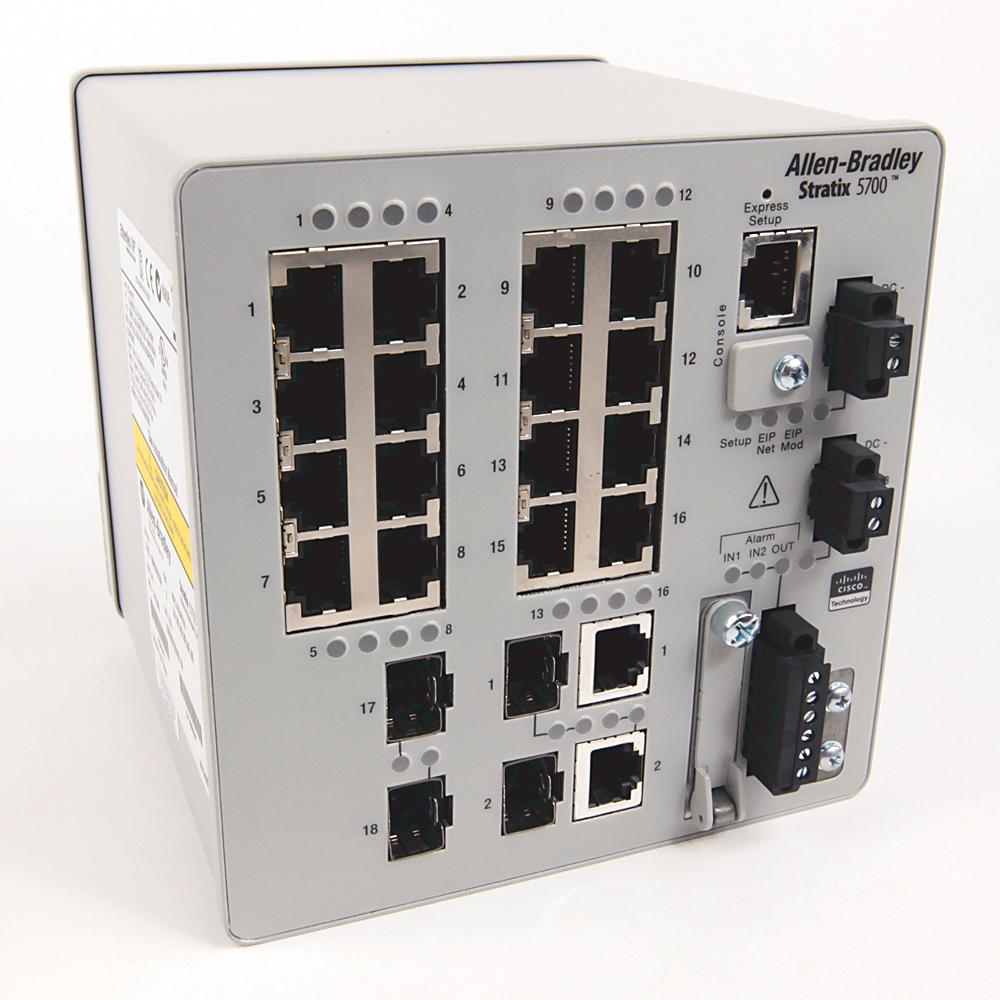 Allen-Bradley 1783-BMS20CGN Stratix 5700 20-Port Managed Switch