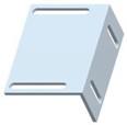 A-B 440N-AHDB Integrated Latch Moun