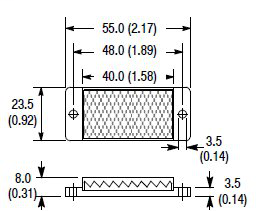 Allen-Bradley 92-112 Reflectors for Photo Sensor