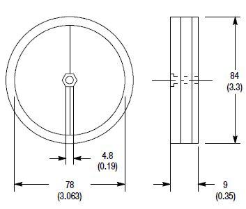 Allen-Bradley 92-89 Reflectors for Photoelectric Sensor