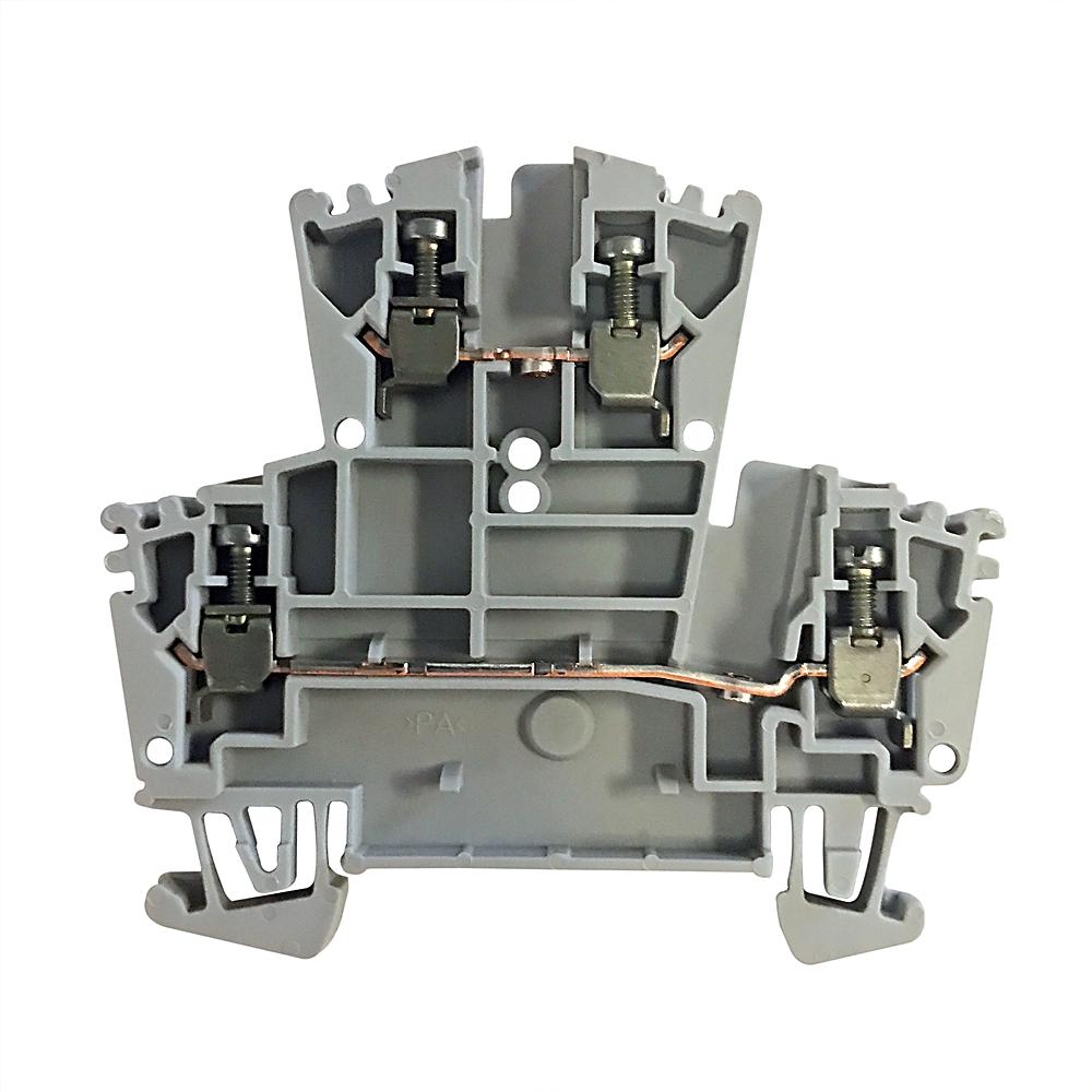 Allen-Bradley 1492-JD3 2-1/2 mm Double Level Terminal Block