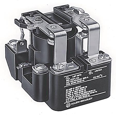 Allen-Bradley 700-HG42A1-5-6 Open Style Power Relay