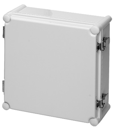 Allen Bradley 598-DS11115M Hinged Solid Cover Gray Polymeric Enclosure
