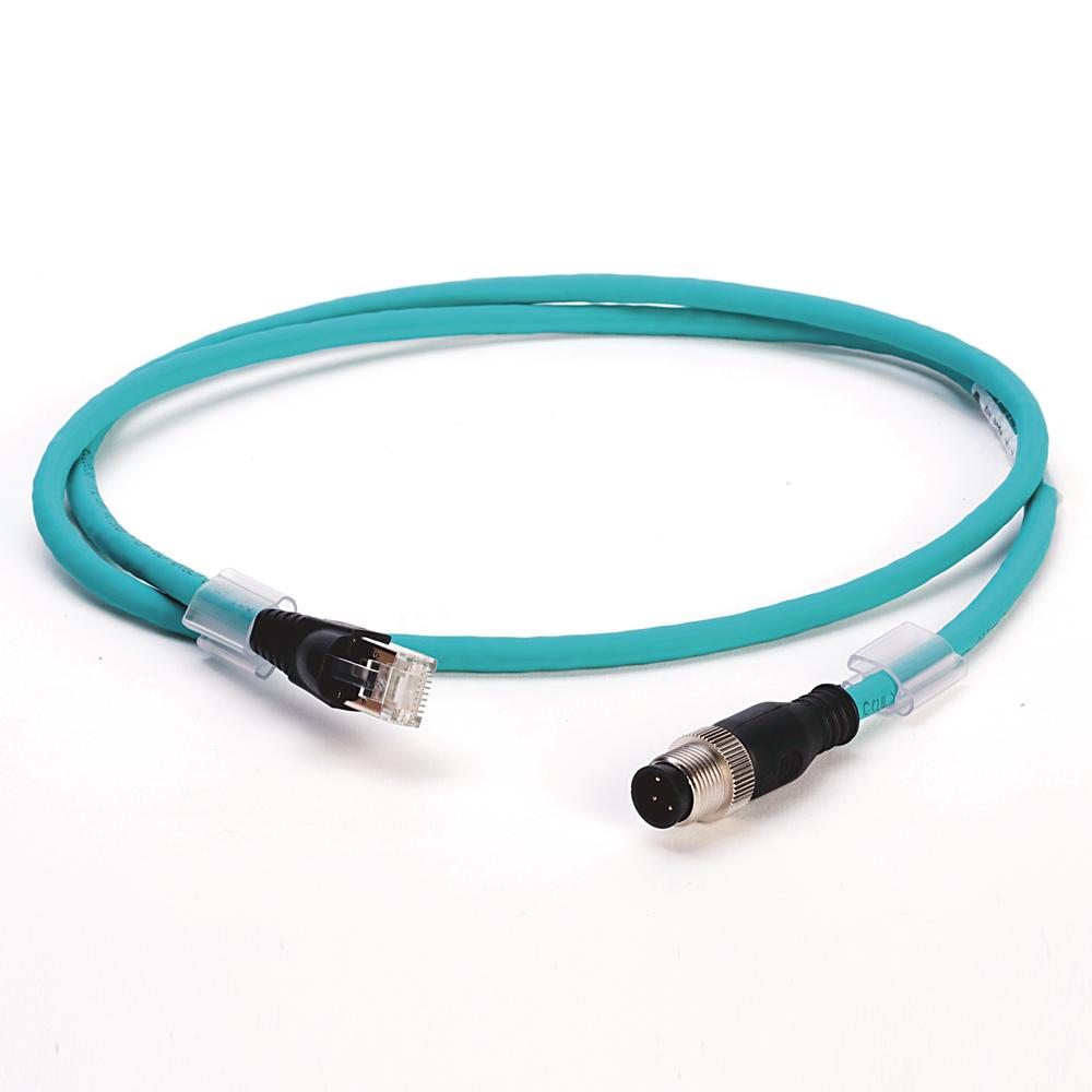 Allen-Bradley 1585D-M4TBJM-5 Micro D-Code QD Style Ethernet Media