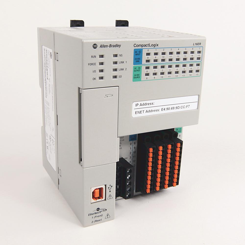 Allen-Bradley 1769-L16ER-BB1B Compactlogix 384 kB DI/O Controller