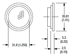 Allen-Bradley 92-47 Reflectors for Photoelectric Sensor