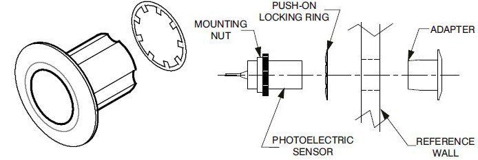 Allen-Bradley 60-2590 Flush Mounting Adaptor