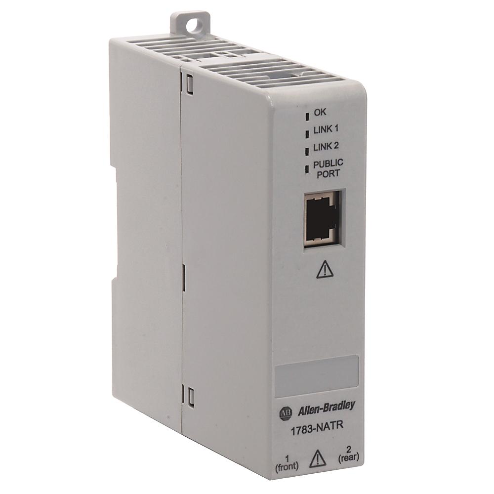 Allen Bradley 1783-NATR 20.4 to 27.6 VDC 150 mA Configurable Network Address Translation Router