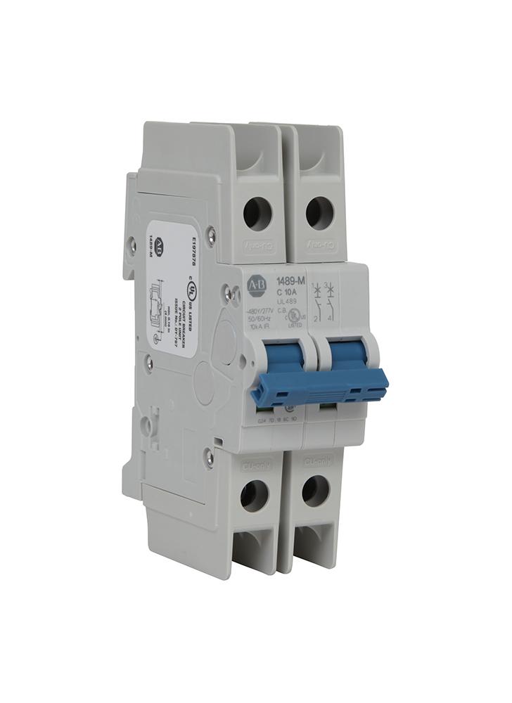 Allen-Bradley 1489-M2C100 UL489 10 Amp Miniature Circuit Breaker