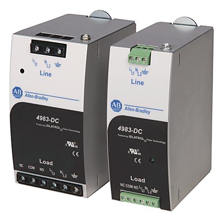 Allen-Bradley 4983-DC120-03 DIN Mount Filter
