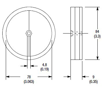 Allen-Bradley 92-39 Reflectors for Photoelectric Sensor
